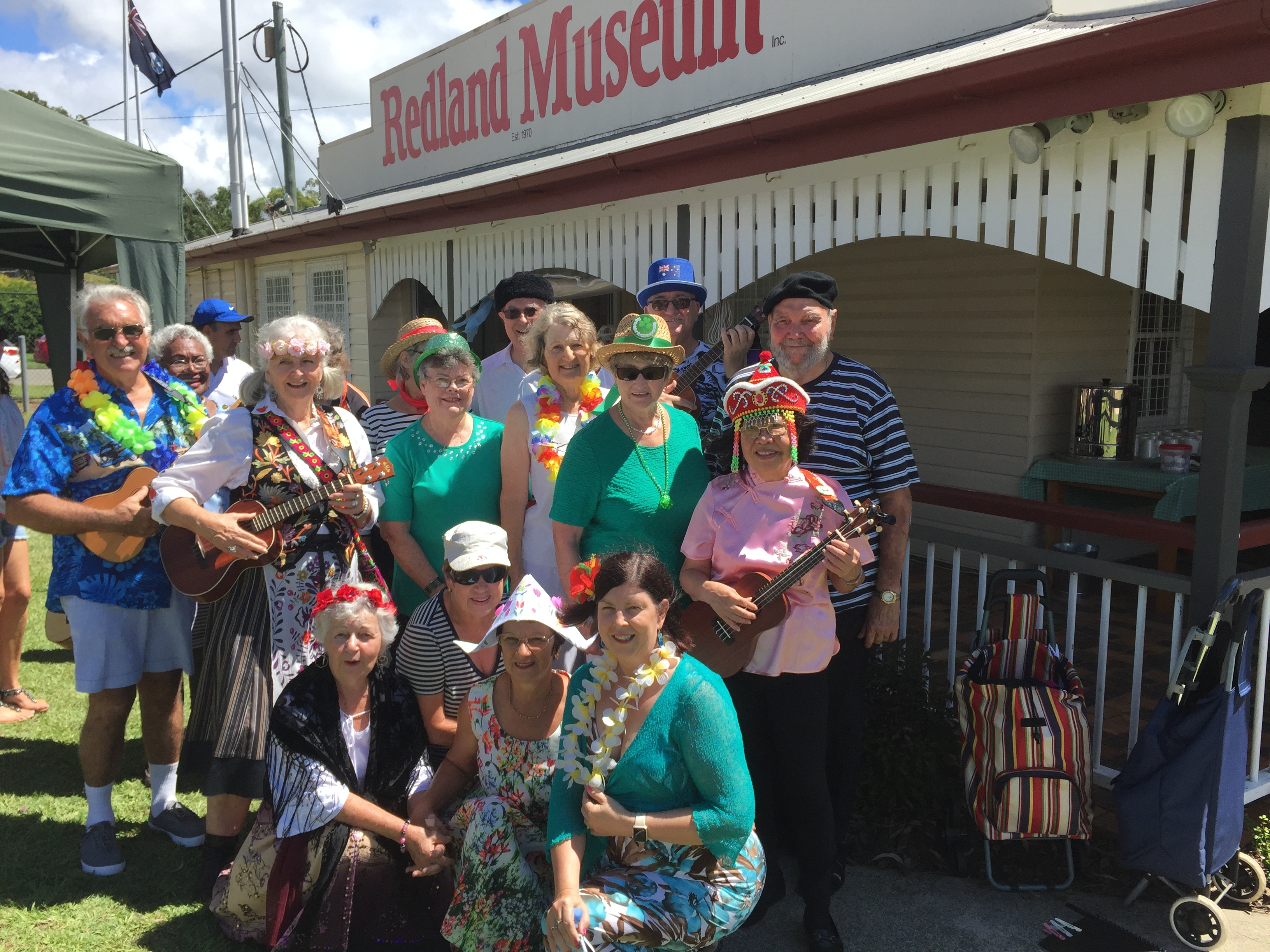 Dukes at Redland Museum Harmony Day 2018