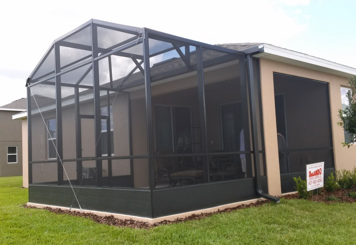Patio Screen Enclosures - Porches and Lanais on Patio Enclosure Ideas  id=68533