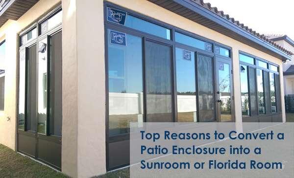 reasons to convert a patio enclosure
