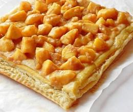 Tarta cu mere in caramel si crema de vanilie
