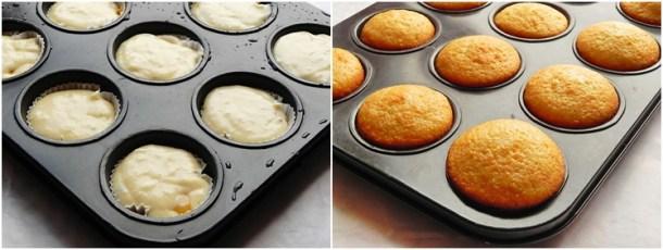 Cum se prepara Muffins cu ciocolata