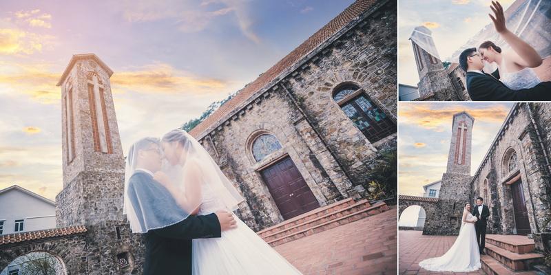 Nhà thờ Đá địa điểm chụp ảnh cưới mà không cặp đôi nào không biết