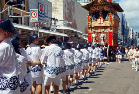 Lễ hội Gion Matsuri3
