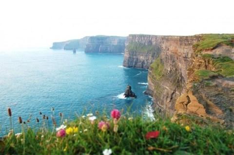Vách đá Moher, Ireland