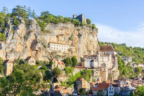 Ngôi làng Rocamadour, Lot, Midi-Pyrénées
