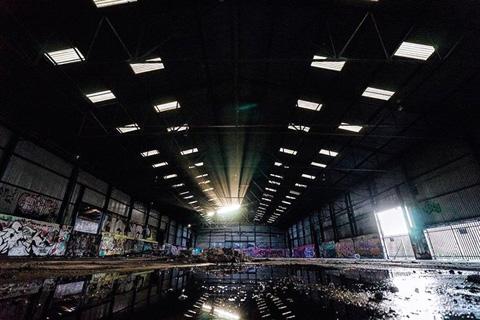 một địa điểm bỏ hoang ở Glasgow, Scotland này.