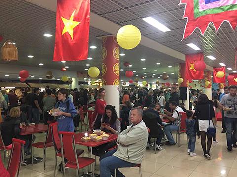 Lễ hội Ẩm thực đường phố Việt Nam lần thứ hai tại Nga
