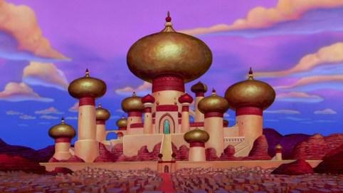 Cung điện của nhà vua trong Aladdin