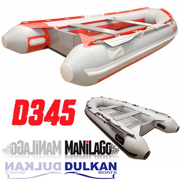 mali gumenjak dulkan boats d345 manilago