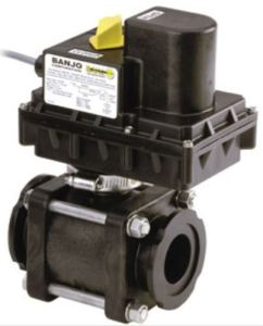 Electric Banjo Ball Valve