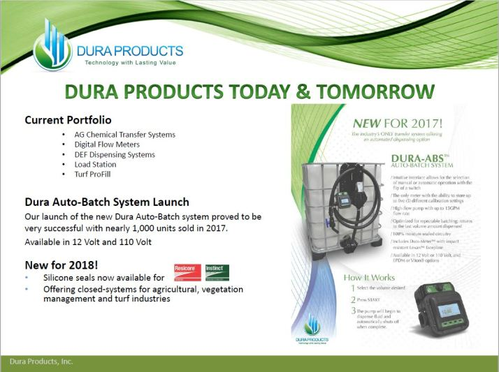 Dura Products Offering Package