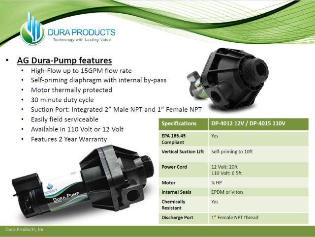 Dura Ag Product Pump