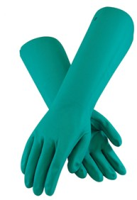 reusable nitrile gloves for disinfecting