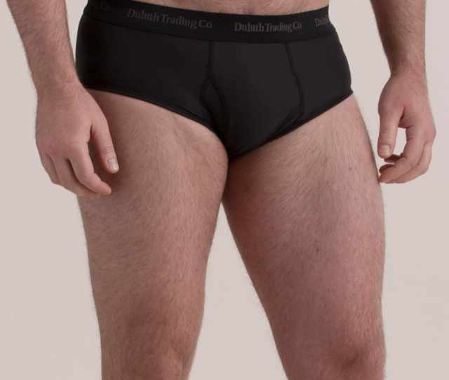 Mens Buck Naked Performance Briefs Clasred Sm