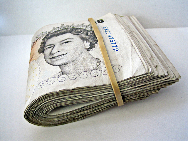 Pound notes - Photo by Images_of_Money