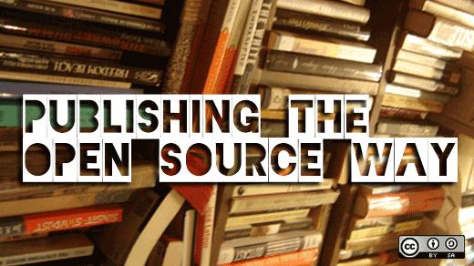 Self publishing - Image by opensourceway