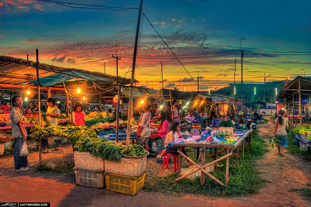 Local Thai Market in Phuket Thailand - Photo by Kim Seng
