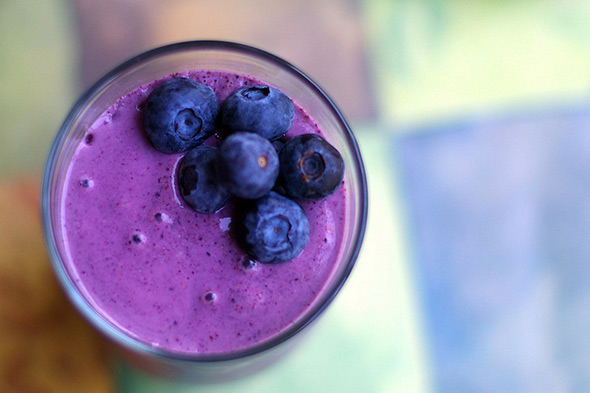 Blueberry doughboy Smoothie - Photo by miriamwilcox