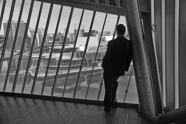 Businessman in Manchester - Photo by Lee_Salford