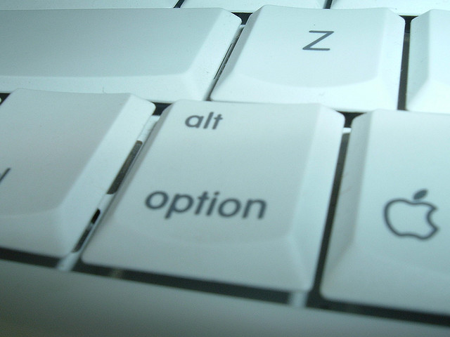 Option Button On Keyboard