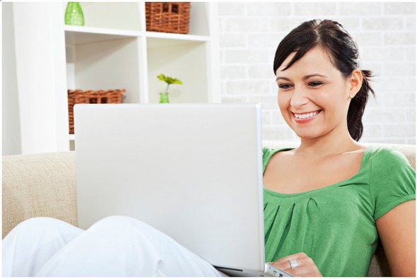 8 Tips for First Time Buyers in London - July 2016 - Women Working On Laptop