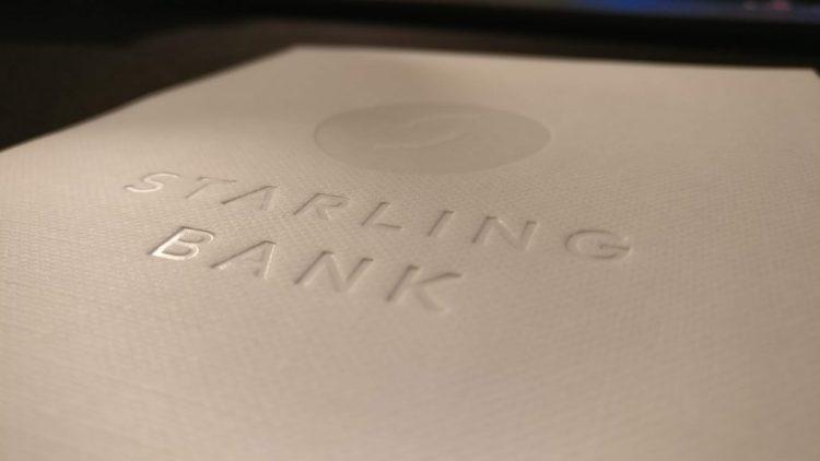 Starling Logo on Card Insert