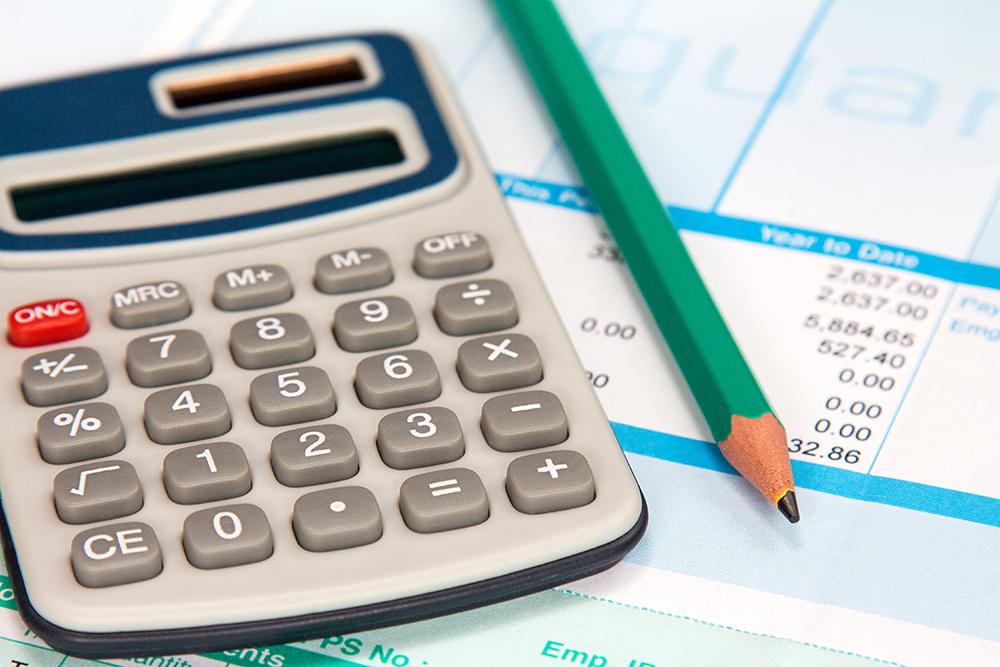 Payslip and calculator