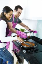 Cook a special love meal of your partner's favorite foods