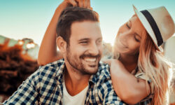 Be genuinely happy with your partner