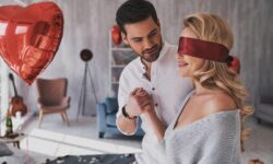 Blindfold surprise
