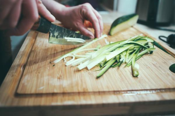 preparing meal