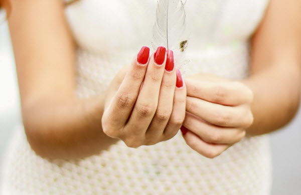 ballerina nail shape