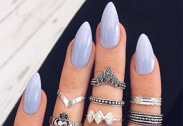 stilleto nail shape