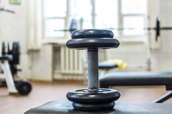 gym etiquette dumbbells