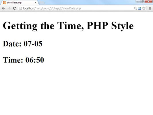 How to Use PHP with HTML5 Programming - dummies