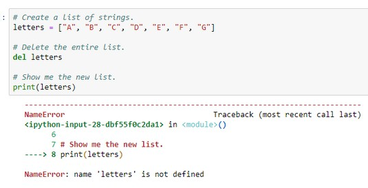 How To Define And Use Python Lists Dummies