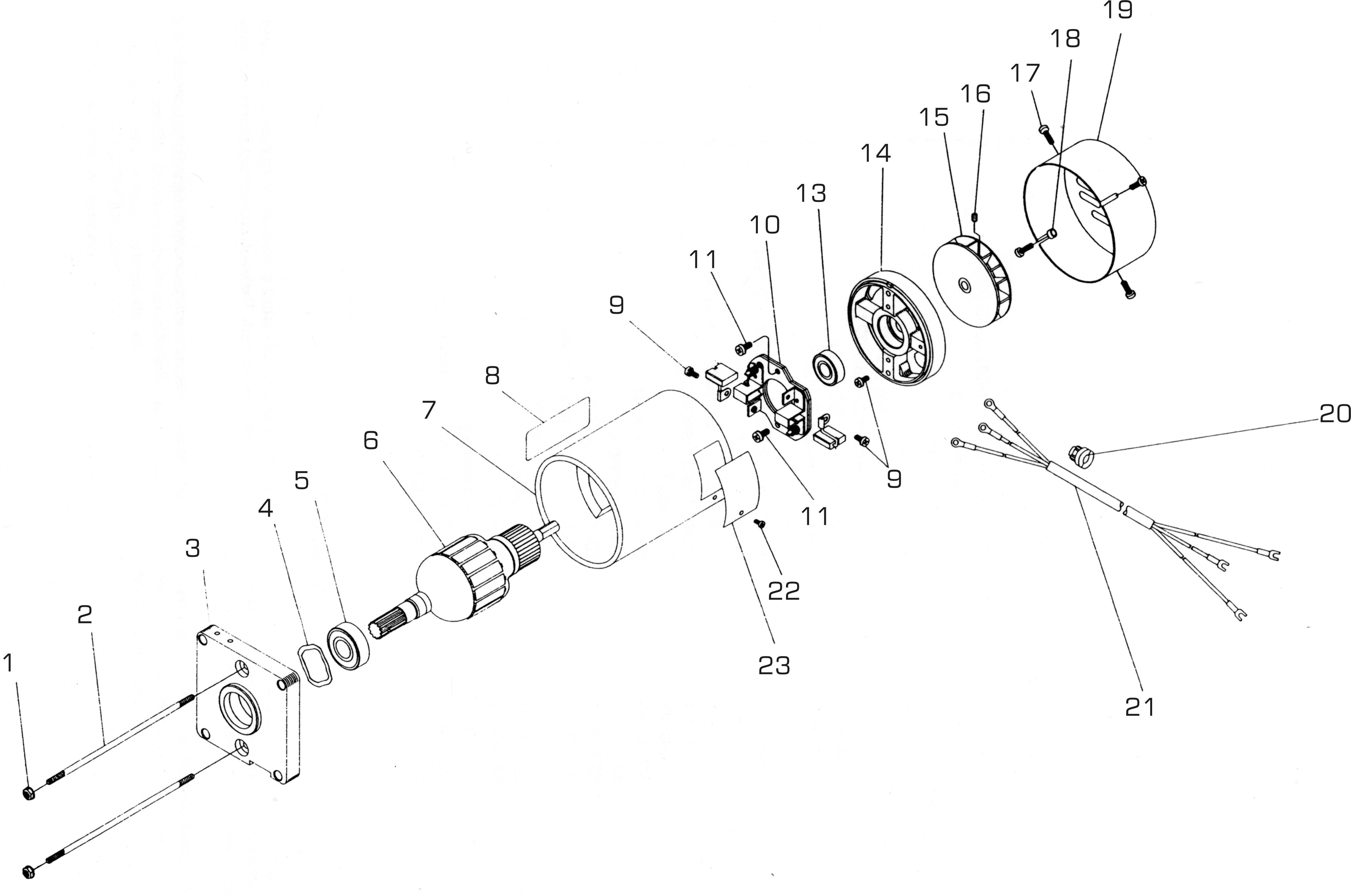 Ac Motor Parts