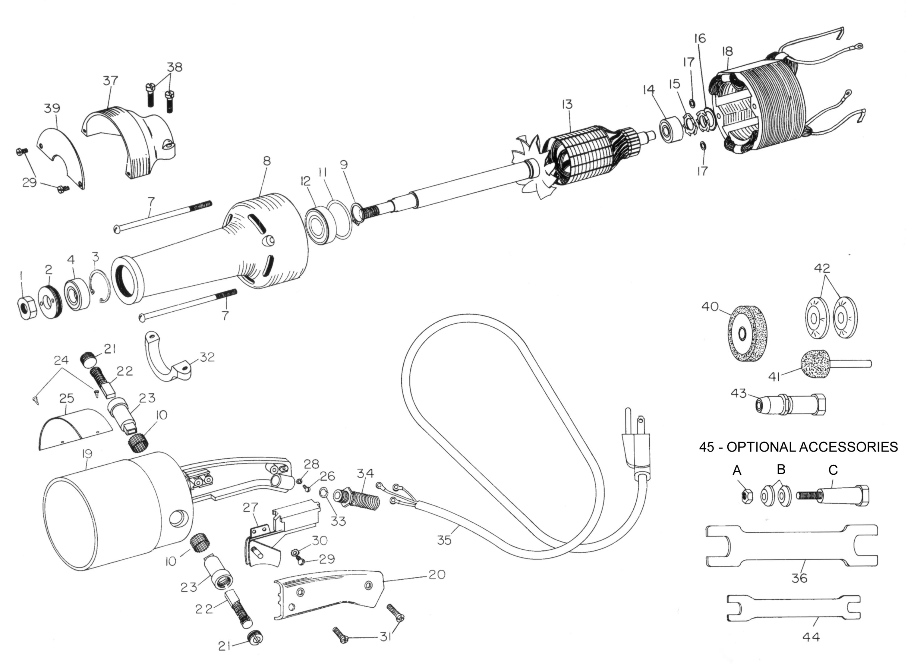 Bench Grinder Wiring Schematic