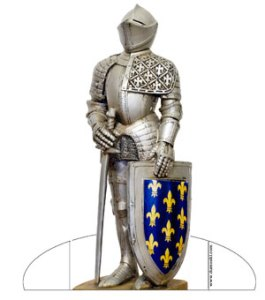 knight paperdoll