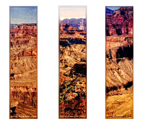 grand canyon printable bookmarks preview