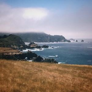 California Big Sur coastline in the summer daytime