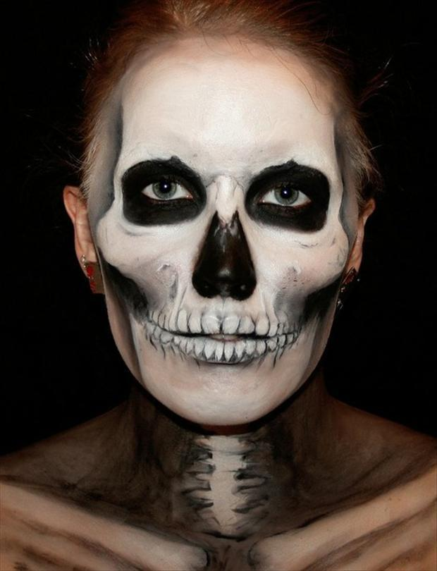 Face Paint Cute Halloween Signs
