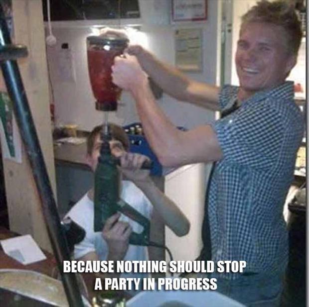 drill a blender, fixed it