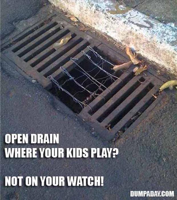 fixed drainage system