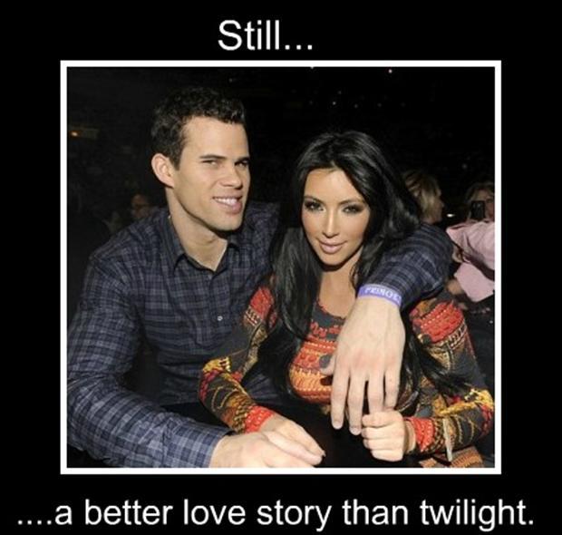 kardashians, a better love story than twilight