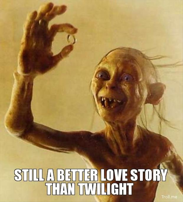 lord of the rings, still a better love story than twilight