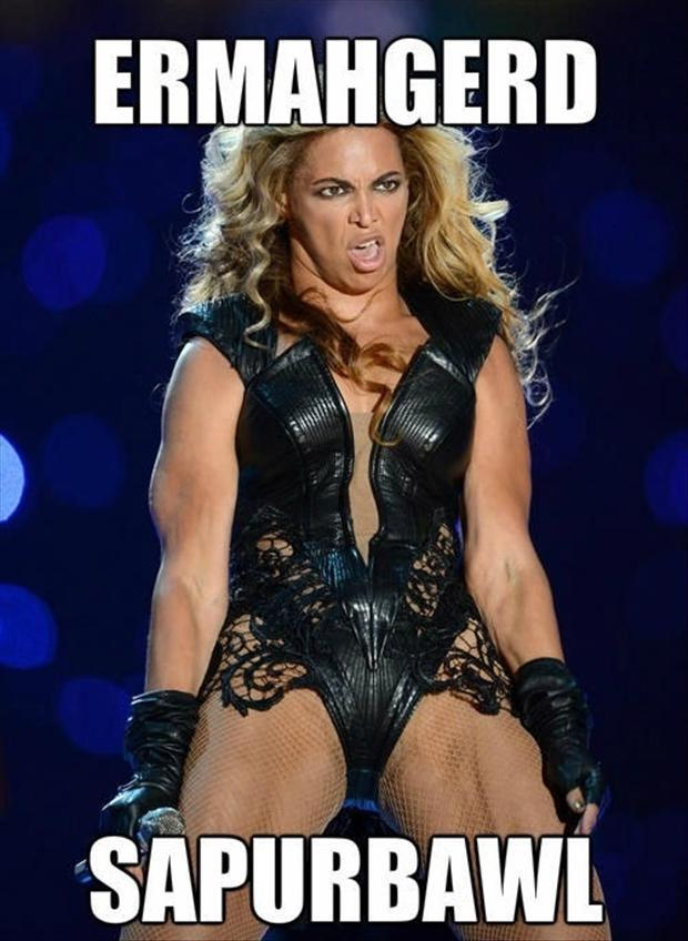 beyonce, funny superbowl pictures
