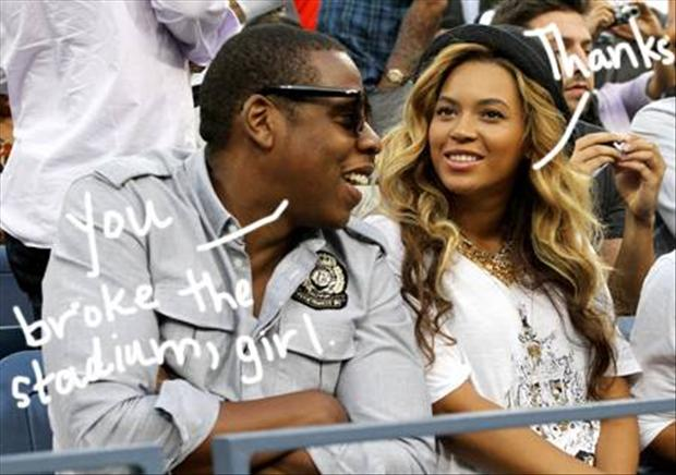 jay z and beyonce, super bowl pictures