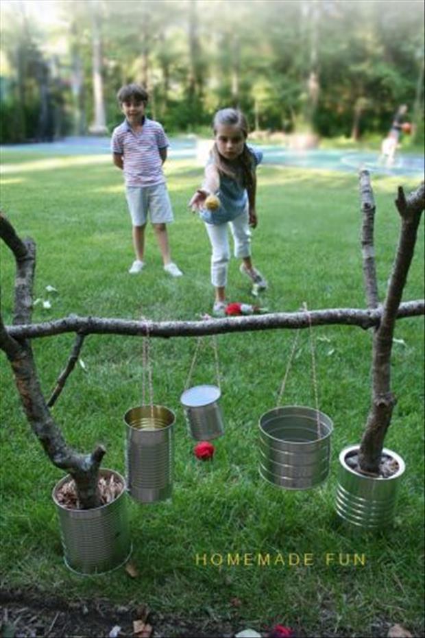 Easy Outdoor Games
