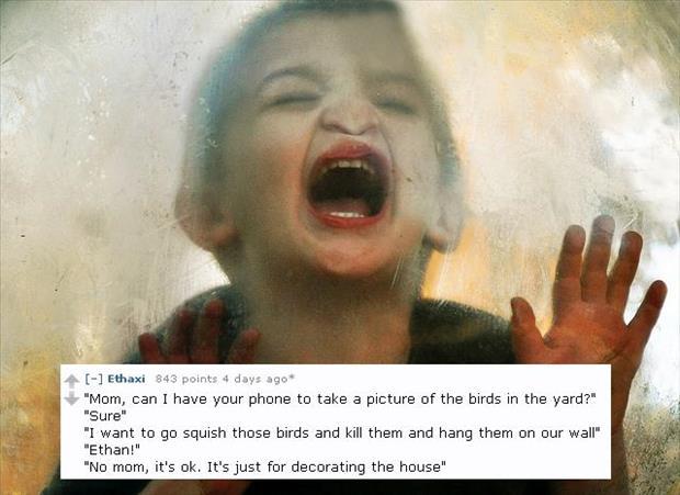 creepy things kids say reddit (10)